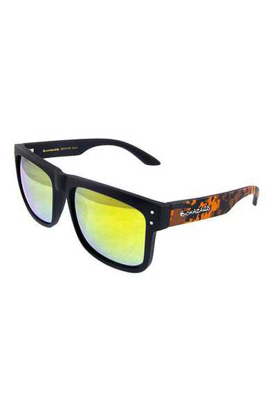 Mens biohazard plastic square fashion sunglasses