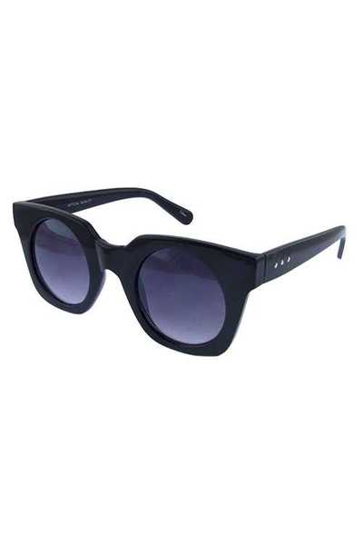 Womens square dapper fashion plastic sunglasses