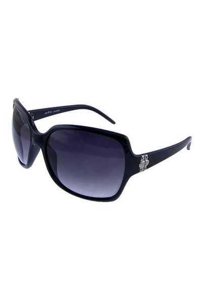 Womens plastic square style fashion sunglasses