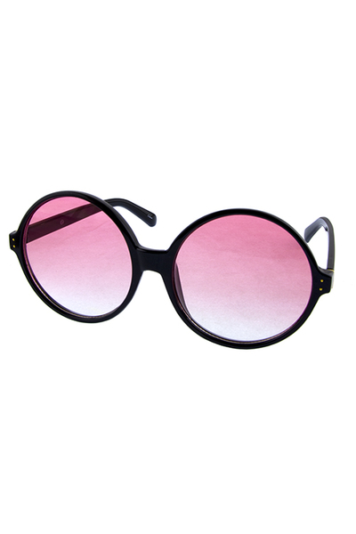 Womens miracle round circle fashion sunglasses