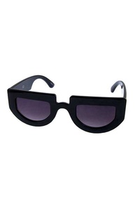Womens retro cat eye square plastic sunglasses