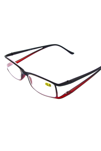Double temple reading glasses