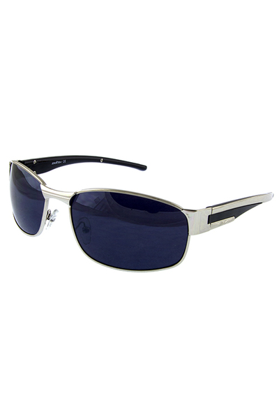 Mens classic square metal sunglasses