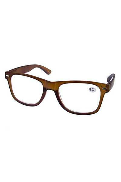 Simple square style reading glasses