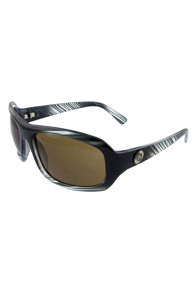 Mens square vortice plastic active sunglasses