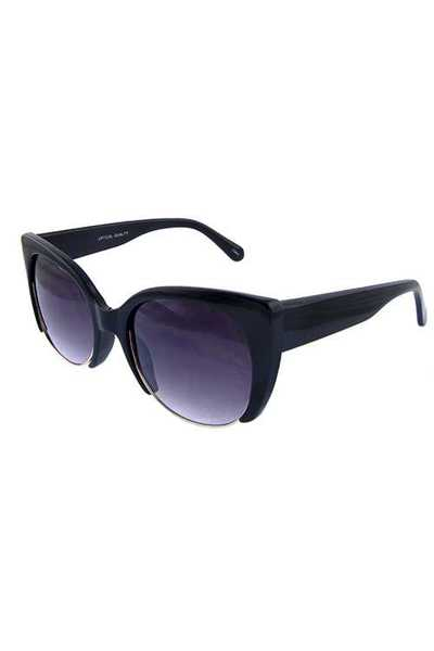 Womens square modern style plastic sunglasses