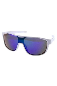 Kids fully rimmed square style plastic sunglasses