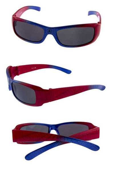 Kids square cute web style sunglasses