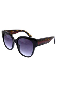 Womens square plastic modern sunglasses