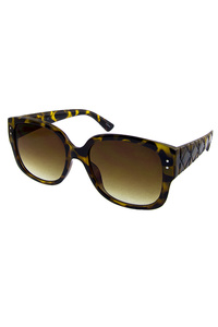 Womens modern retro square style sunglasses