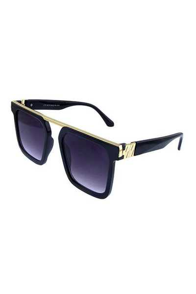 Womens high fashion square retro sunglasses