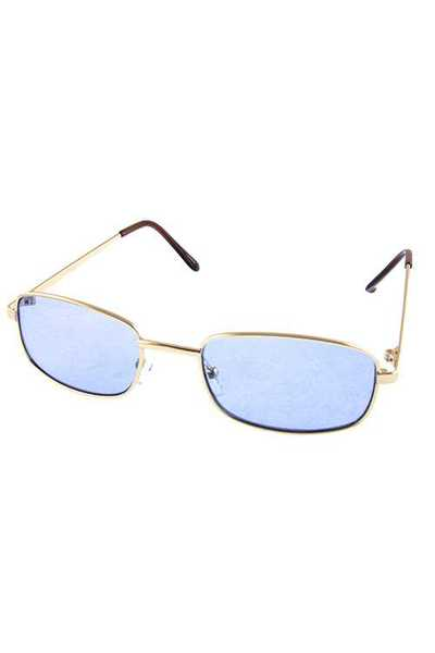 Womens metal gorgeous square style sunglasses