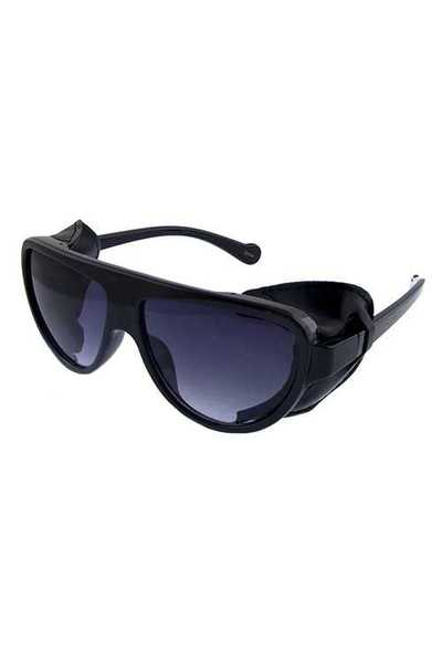 Unisex square sideshield sunglasses