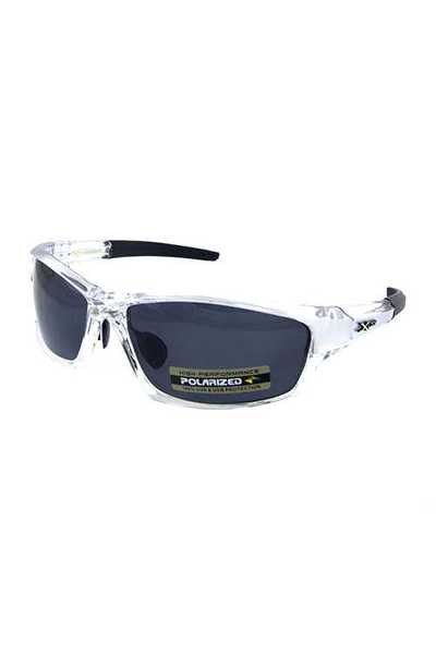 Mens polarized sport square plastic sunglasses