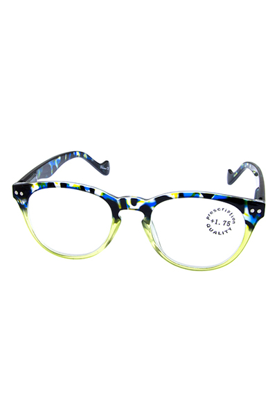 Multicolor plastic camoflauge style Reading glasses