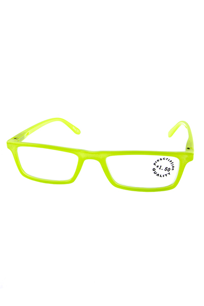 Colorful plastic square reading glasses
