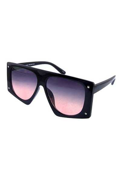 Womens square dapper plastic fashion sunglasses