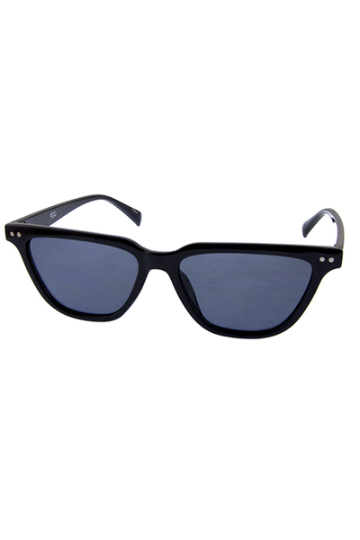 Womens retro narrow fashion cat eye sunglasses