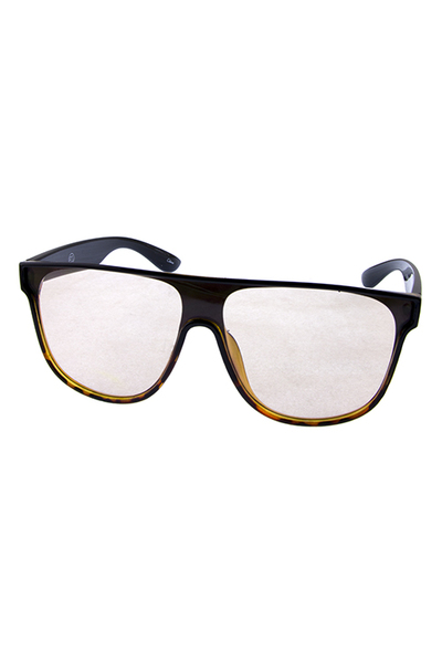 Womens indie fashion horned rimmed sunglasses