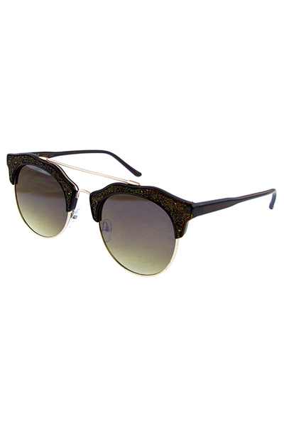 Womens flat horn blog fashion sunglasses