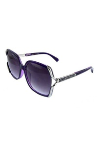 Womens blended high fashion square sunglasses