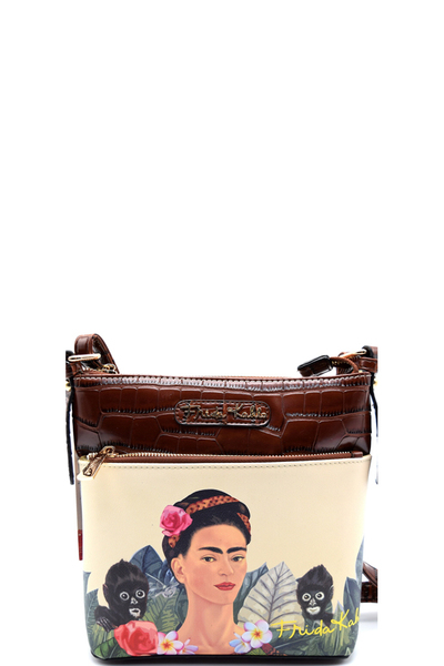 Authentic Frida Kahlo Jungle Series Cross Body