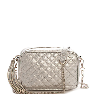 Trendy Fashion Quilted Cross Body Bag