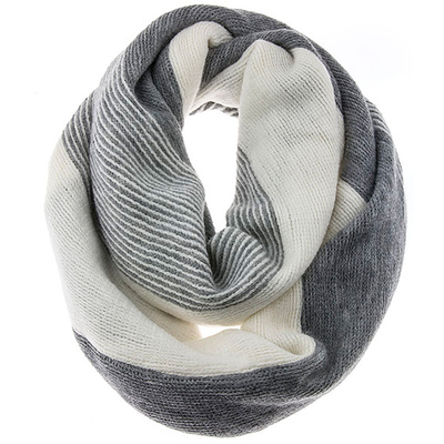 SUBTLE COLOR INFINITY SCARF