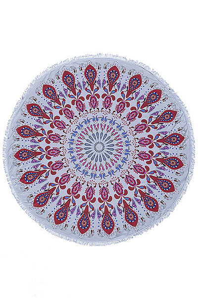 PAISLEY MANDALA PATTERN BEACH TOWEL