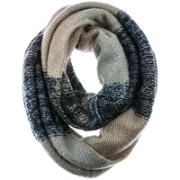 DOUBLE LAYER WIDE INFINITY SCARF