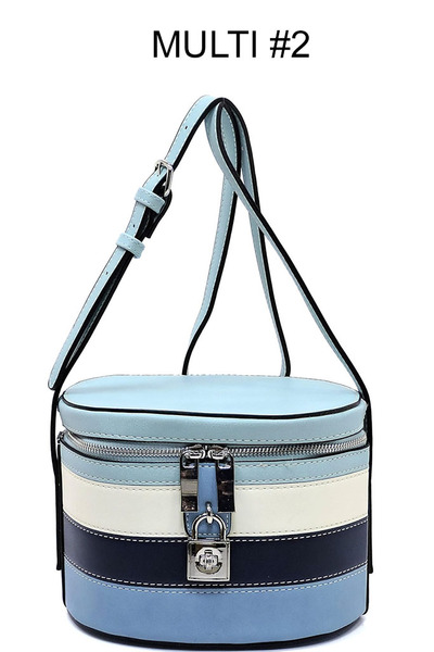 Multi Colorbloack Crossbody Bag Satchel