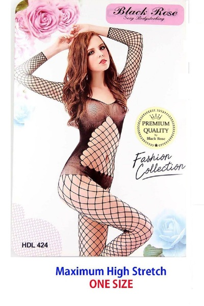 Lady's Fishnet Body Stocking