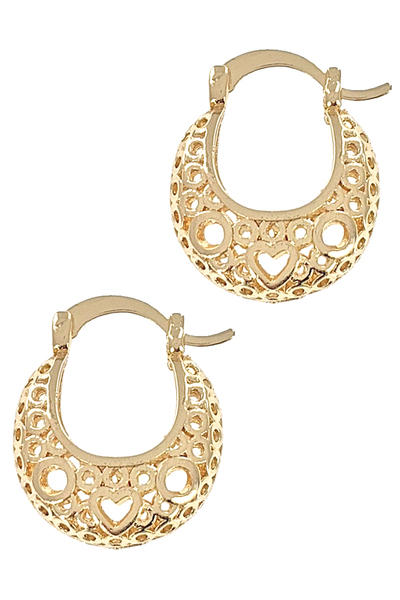 Designer Inspired Hoop Earrings