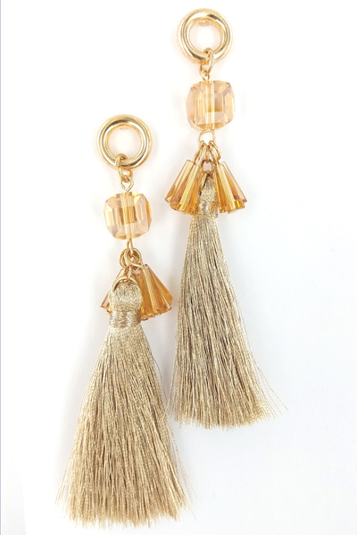 LOVELY FRINGE EARRINGS