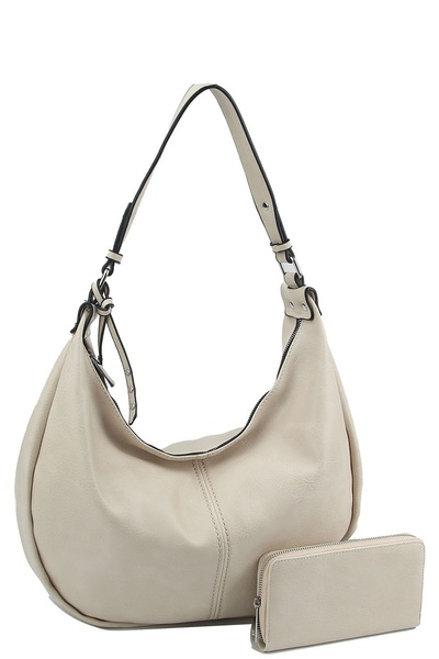 Fashion 2-in-1 Hobo Shoulder Bag
