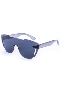Bright Clear Rimless Sunglasses