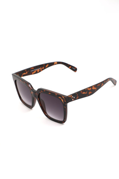 Acetate Wayfarer Square Sunglasses