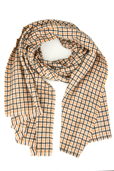 Plaid Checkered Stripe Oblong Scarf