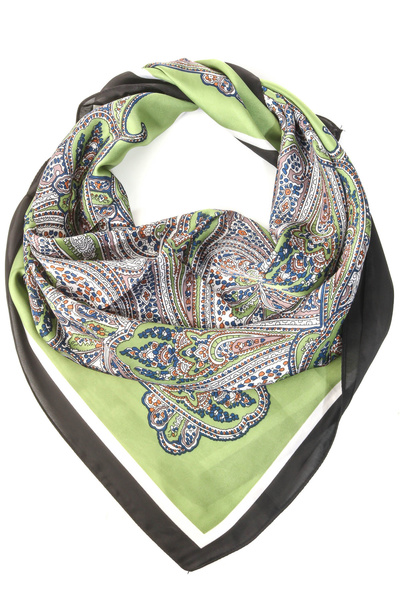 Paisley Pattern Square Scarf