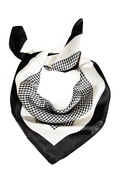 Houndstooth Pattern Square Scarf
