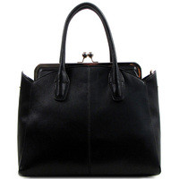 Kiss Lock Clip Tote Bag