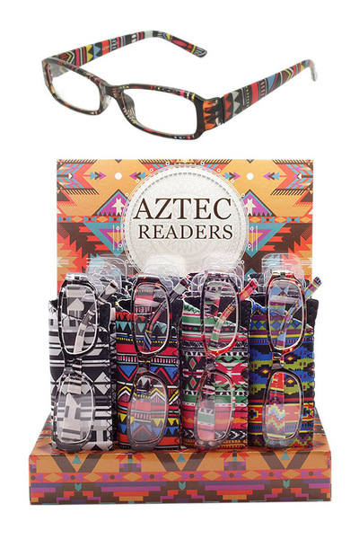Aztec Pattern Readers With Display