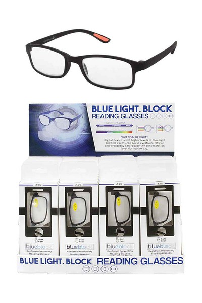 BLUE LIGHT BLOCK READERS + DISPLAY