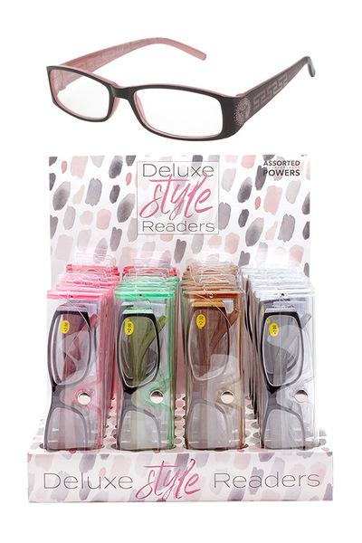 DELUXE STYLE READERS DISPLAY