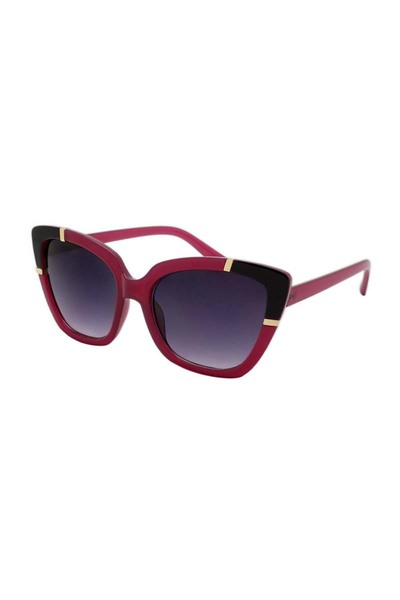 DAZEY SHADES PLASTIC FRAMED ASSORTED COLOR POLARIZED CAT EYE SUNGLASSES