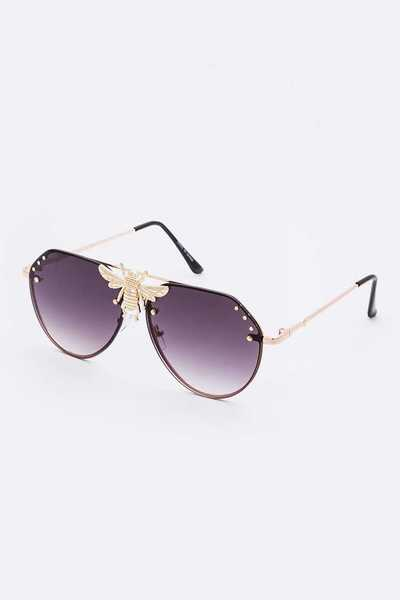 Bee Iconic Aviator Sunglasses Set