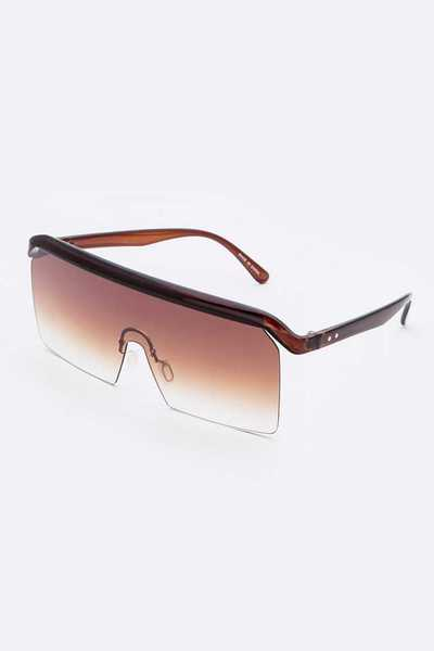 Shield Iconic Gradient Sunglasses Set