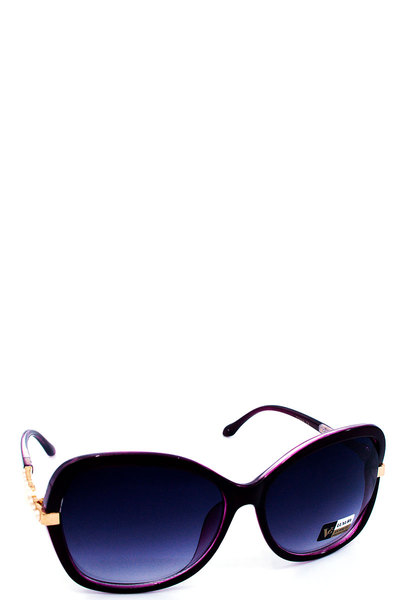 TREDNY PEARL BIG EYE SUNGLASSES