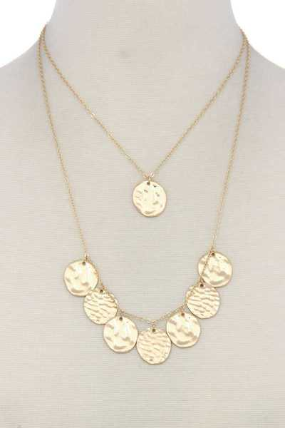 COIN LAYERED NECKLACE