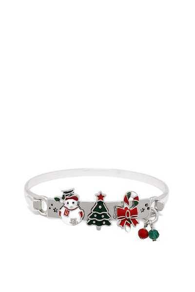CHRISTMAS SNOWMAN AND MORE CHARM BRACELET